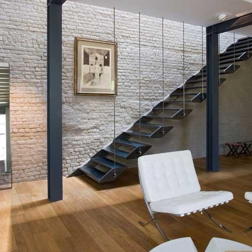 Escaleras A Medida Acero Y Vidrio Zona Oeste Zona Norte